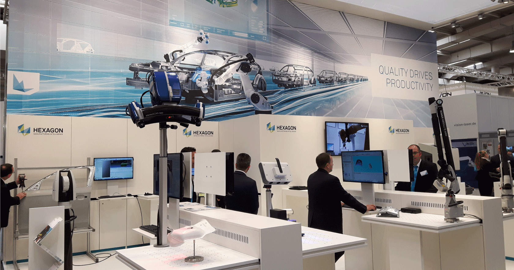 Hexagon at Hannover Messe 2017