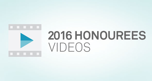 2016 Shaping Smart Change Honorees Videos